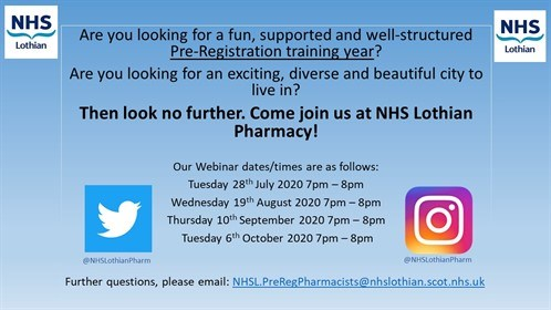 NHS Lothian PRPS flyer