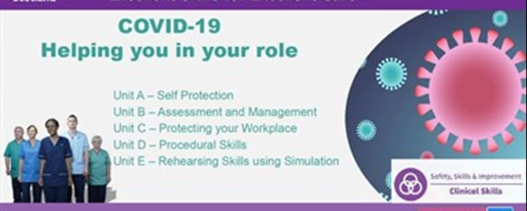 New Resource: COVID-19 Multi-Professional Educational Skills Bundles from CSMEN